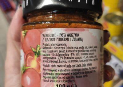 pasta warzywna Wawrzyniec skład